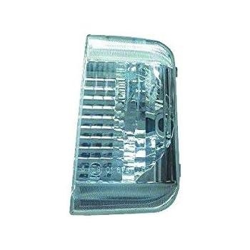 con lampada con base in vetro colore giallo 71748254 16 W lato sinistro Copertura per lampeggiante per specchietto
