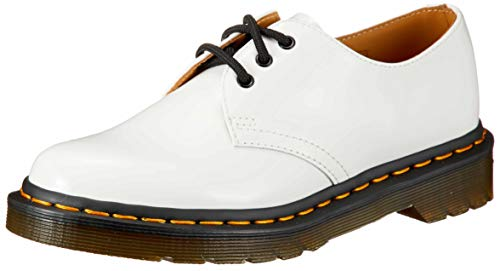 Top 10 best selling list for dr martens core 1461 tahan white 3 eye flat shoes