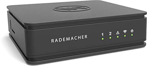Rademacher HomePilot®2 - Das Herzstück für Ihr Smart Home, Steuerung von DuoFern und Philips Hue Geräten (mit Google & Alexa Sprachsteuerung), Schwarz