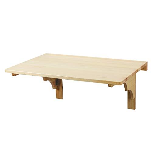 GY Fold Drop Leaf, massief hout muur gemonteerde tafel, geschikt voor familie bureau werkbank computer Bureau, kind leren de standaard, hout kleur, 3 maten