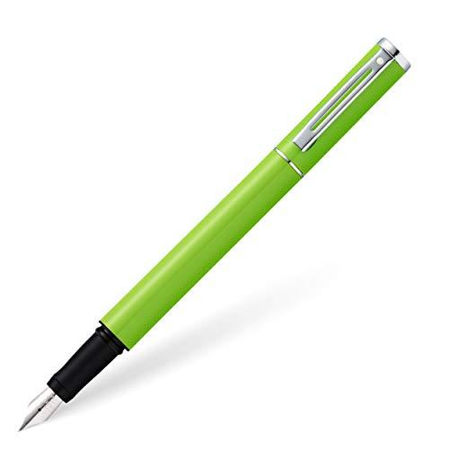 Shaeffer Pop Füller (Federstärke M, inkl. Tintenpatrone schwarz) glänzendes Grün