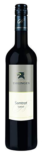 Württemberger Wein Esslinger Schenkenberg Samtrot Spätlese -Stufe 8 halbtrocken (1 x 0.75 l)