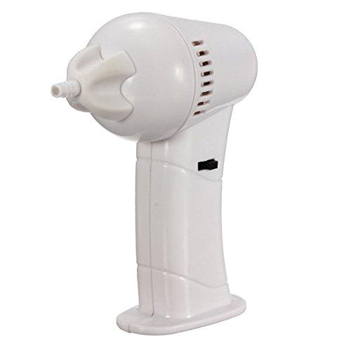 Rose Lézard Electric Vac Vacuum Cordless Ear Cleaner Wax Remover cure-oreilles