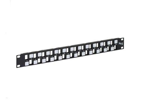 Icc Patch Panel, Blank, Ez, 24-Port, 1 Rms