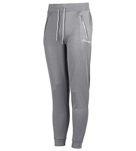 Mountfield Pantalones deportivos clásicos ligeros unisex con cremalleras