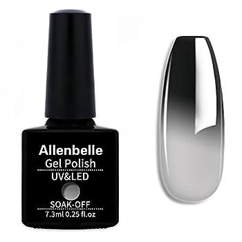 Allenbelle Color Changing Gel Nail Polish Set Color Changing Gel Polish Set Mood Soak Off Uv Led Gel Nail Polish 5772
