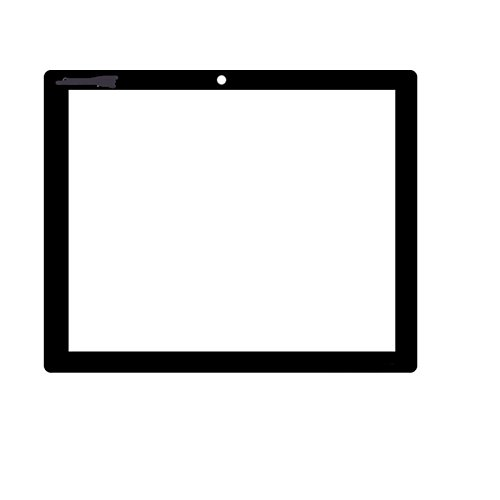 EUTOPING ® Schwarz Farbe 8 Zoll Touchscreen - digitizer für Clempad XL 4.4 CLEMENTONI 13697