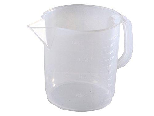 Gima 37711 Caraffa Graduata, Plastica, 1000 ml