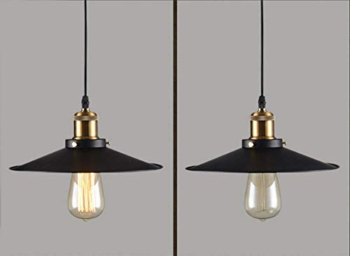 EI Guo Home Vintage Kronleuchter Kreative American Rural Bars Restaurants und Topf Deckel Lightingthatblack Dia.36Cm