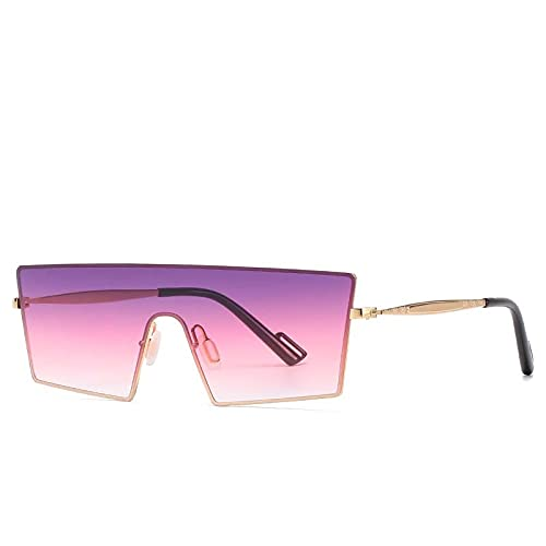 AMFG Gafas de sol personalizadas Caja transfronteriza Caja de sol y gafas de sol para mujer Viajes al aire libre Fotografías de conducción (Color : D)