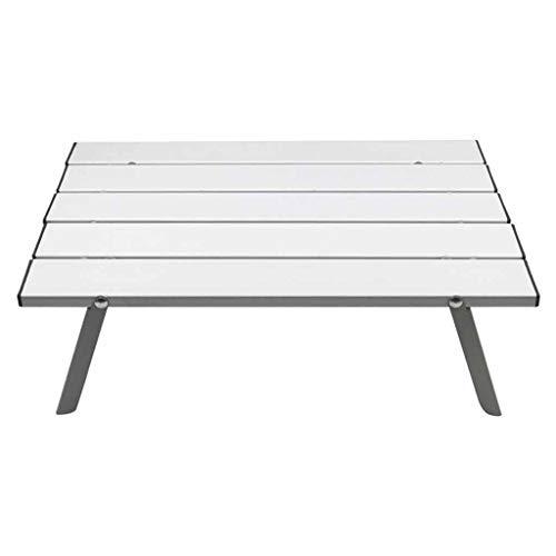 Table Portable Portable en Alliage d'aluminium Mobilier d'extérieur Pliable Pliant Camping Randonnée Bureau Travelling Pique-Nique Mesa