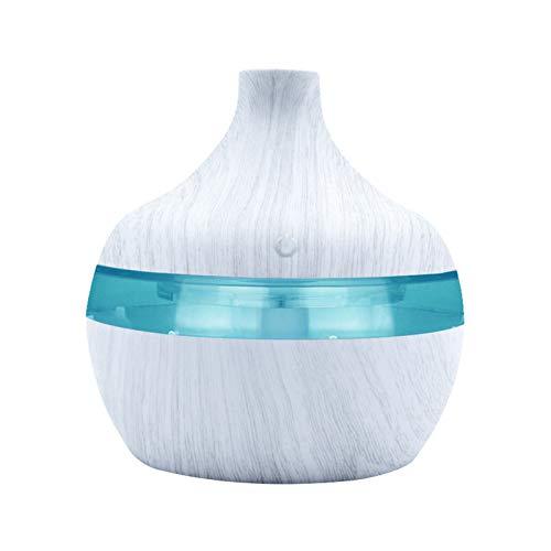 YUWEX 300ml Aroma Diffuser Ultra Leise Luftbefeuchter mit Nebel Öle Diffusor Aromatherapie mit 7 Farben LED für Schlafzimmer Kinderzimmer Baby Yoga Spa