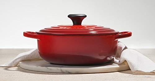 Le Creuset Enameled Cast Iron Signature Sauteuse Oven, 3.5 qt., Cerise