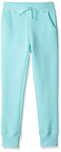Amazon Essentials Girl's Fleece Jogger, Aqua 4T