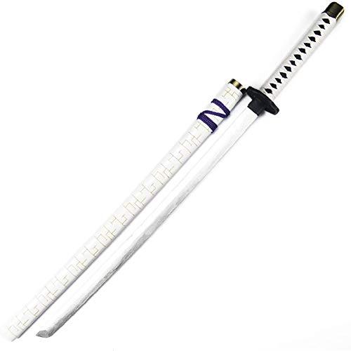 JXINGY Espada de Madera con Vaina de 100 cm, Cuchillo de Juguete de Madera, Accesorios de Cosplay de Anime, actuaciones de Artes Marciales, Fan del Juego de Roles