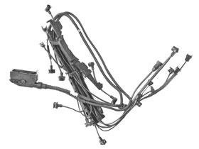 Check price Mercedes r129 w140 320 Engine Wiring Harness