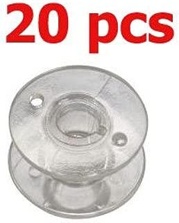 20 pcs Bobbins Clear Plastic # 820921096 for Pfaff Quilt Expression 4.0 4.2 Performance 5.0 3/8
