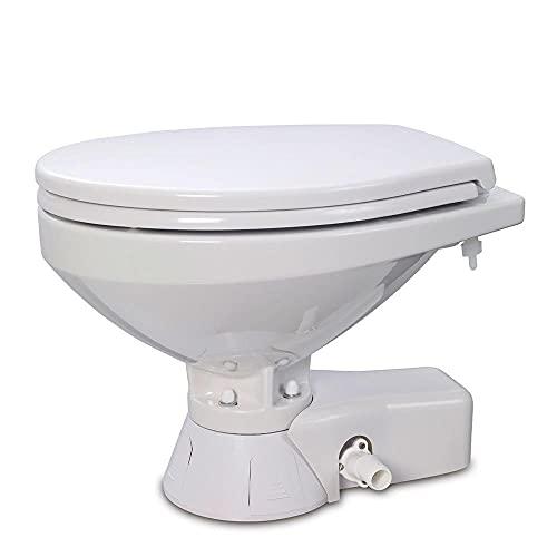 Jabsco 37045-3092 Quiet Flush Electric Marine Toilet...