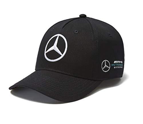 Mercedes AMG Petronas Valtteri Bottas Cap Baseball Kappe 2018 F1 VB77 Fanartikel Bekleidung Herren Damen Erwachsene Schwarz