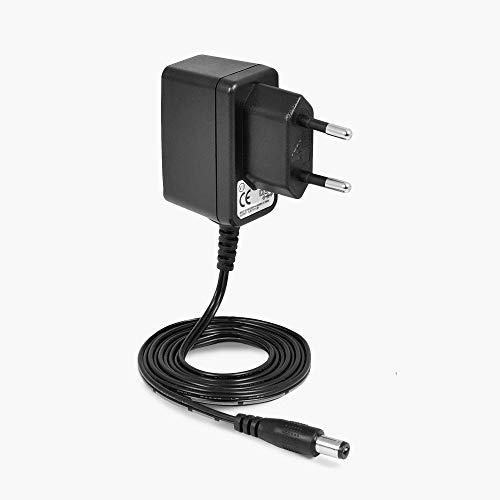 LEICKE Fuente de alimentación universal de 5 V 1 A 5 W, adaptador de corriente directa, compatible con fuente de alimentación CA negra para módems, routers, cargadores, interruptores, etc.