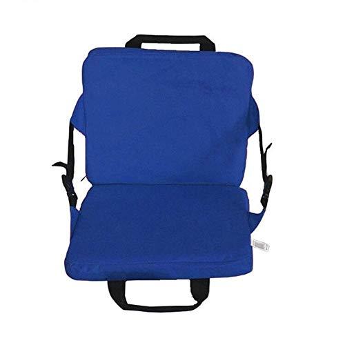 DAGUAI Colchoneta plegable para exterior, para camping, portátil, impermeable, para picnic, camping, barbacoa, color azul