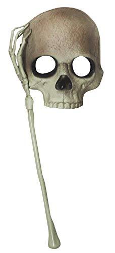 Petitebelle Skelett-Maske mit Totenkopf-Motiv Gr. Einheitsgröße, Totenkopf