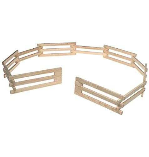 Breyer Traditional Wood Corral Fencing Accessory Toy Multicolor  9 inches