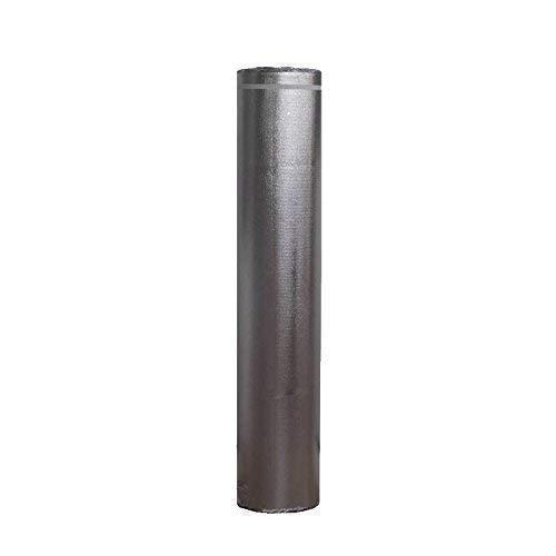 Base Aislante Acústica FOAM7 - ELITE SOUND 2mm. Rollo: 20m2. Mejor Densidad EVA Acústica para Suelos Laminados, Tarimas y Parquet; Reduce sonido 20dB; Lámina Metalizada con Insonorización