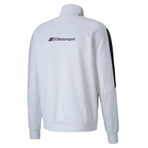 Formula 1 BMW Motorsport Men's T7 Track Jacket, Puma White, L