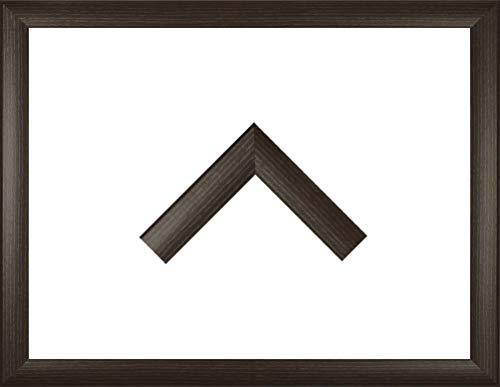 Holz Werkstoff Bilderrahmen TOSKANA 26 x 43 cm mit großer Farbwahl. Jetzt: Mokka. 1 mm Acrylglas klar
