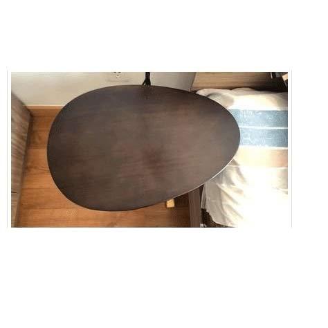 Tabla creativo sencillo óvalo pequeño café mesa de hierro...