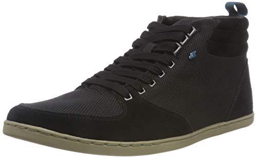 Boxfresh Herren EPLETT Hohe Sneaker, Schwarz (Black Blk), 45 EU