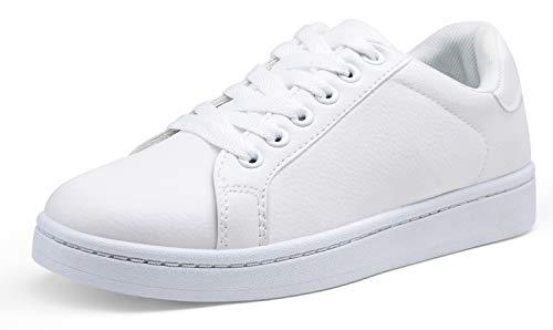 Vepose Women's Fashion Sneakers Platform Walking Shoes White...