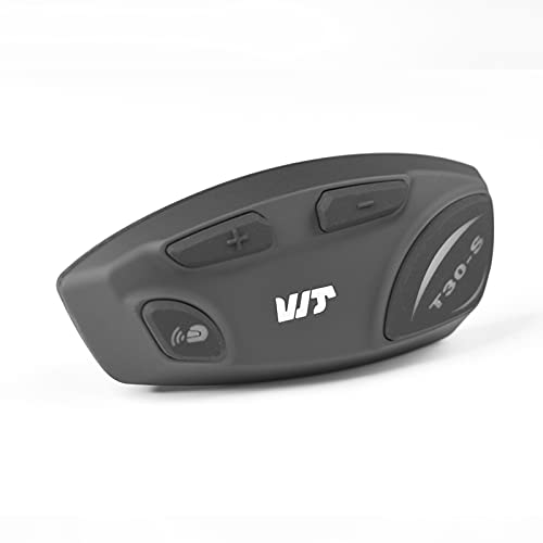 Docooler Auriculares para Casco de Motocicleta BT5.0 Walkie Talkie Manos Libres 1200M Radio FM Impermeable con Micrófono Suave