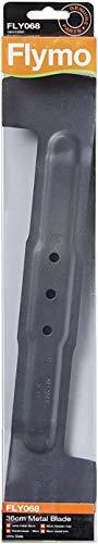 xmwm Landia Genuine Flymo Cuchilla para cortacésped de Metal de 36 cm FLY068
