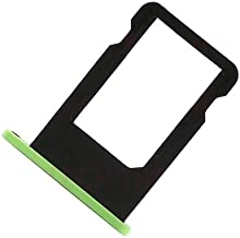 BisLinks New Replacement Repair Part Green Sim Tray Card Slot Holder Tray for iPhone 5C