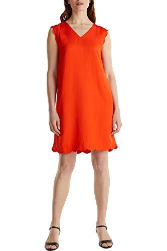 ESPRIT Collection Damen Esprit Kleid, 050EO1E310, Orange, 40