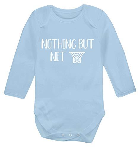 Flox Creative Gilet à manches longues pour bébé Nothing But Net - Bleu - XS
