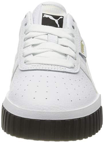 PUMA Cali Wn's, Zapatillas Mujer, White Black-White, 37 EU