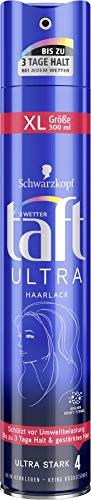 Drei Wetter Taft Haarspray Ultra ultra starker halt 4, 6er Pack(6 x 300 ml)