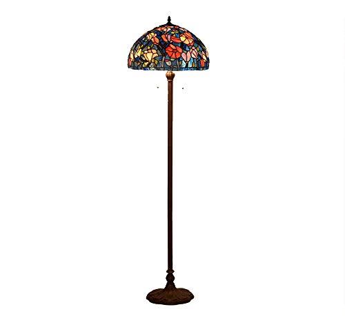 XinQing Lámpara Decorativa Creativa del Dormitorio de la Sala de Estar de la lámpara de pie de Cristal del Color del Arte