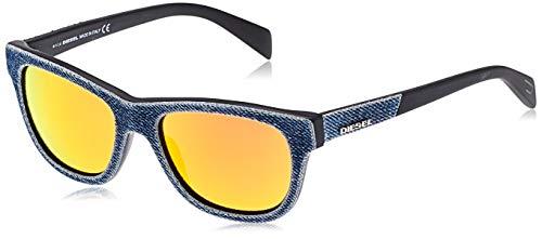 Diesel Sonnenbrille DL0111 5290U zonnebril, blauw (Blau), 52