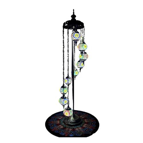 Lámpara de pie Romántico Liuli Habitación clásica B&B Casa Club Café Restaurante Occidental Sala de Estar Lámpara de pie,K,165 * 45