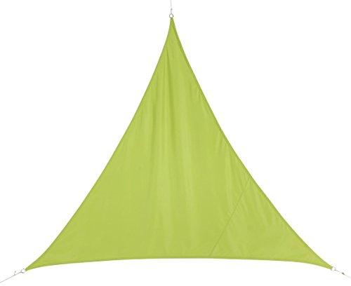 HESPERIDE Toldo Vela Parasol Triangular 2 x 2 x 2 m, en Tela Impermeable - Color Verde
