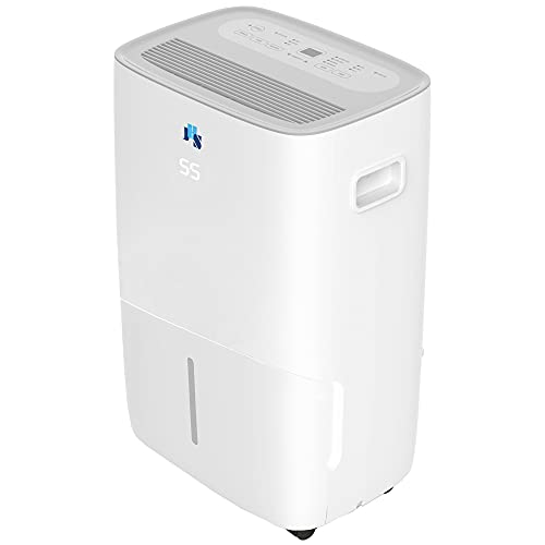 JHS 25 Pint 1,500 Sq. Ft Energy Star Quiet Safe Dehumidifiers for Home and Basements, Small to Medium Rooms and Bathroom