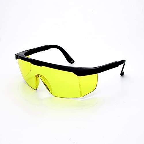 Pppby 1 par Gafas de Seguridad láser Gafas de visión láser Gafas de protección contra la luz láser Protección Ocular con Tratamiento láser para depilación HPL/IPL