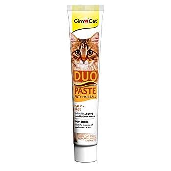 Gimcat Anti-Hairball Duo-Paste - Fromage & Malt - 50 g,