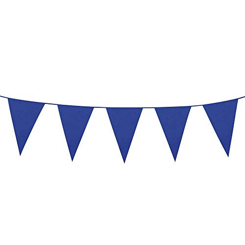 Boland - Guirnalda con banderines 45x30 (XL), Azul