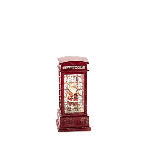 Konstsmide - Figura decorativa de cabina telefónica (1 pila LED)