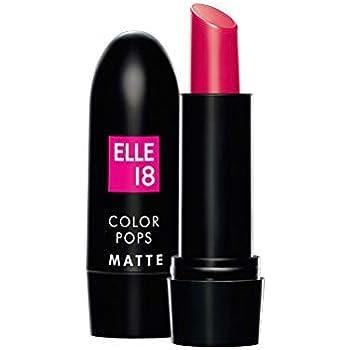 Elle 18 Colour Pops Matte Lipstick, 4.3 g (Deep Pink P23)